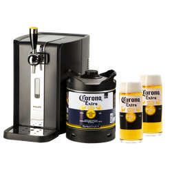 Bottled beer - Pack Perfect Draft Perfectdraft Corona + 2 free glasses!