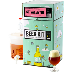 Kit di brassaggio - Kit di brassaggio principiante COMPLETO - Birra di San Valentino