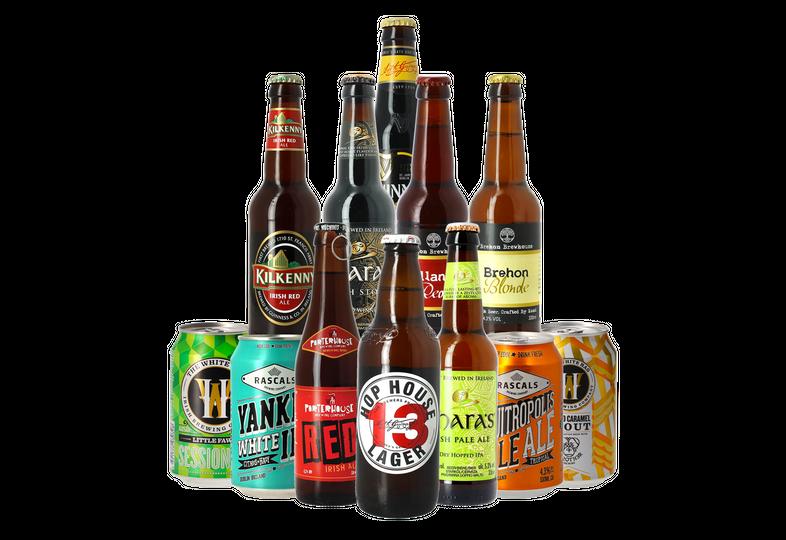 Cofanetti di birra artigianale - Cofanetto di Irlanda - 12 birre