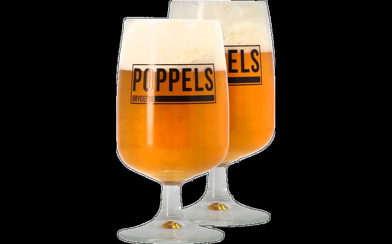 Bicchieri - 2 Bicchieri Poppels - 25cl