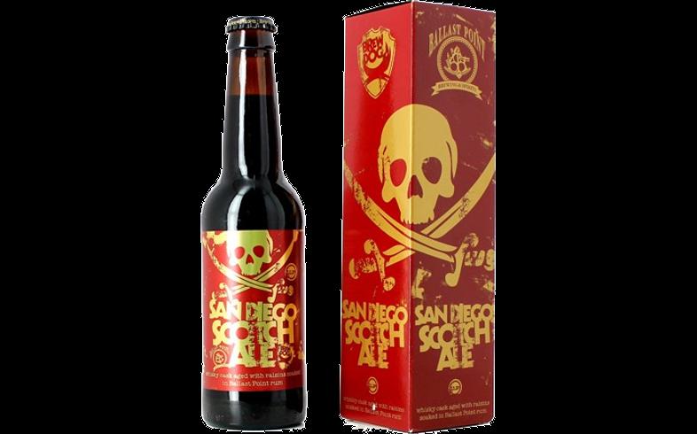 Bottled beer - Brewdog San Diego Scoth Ale