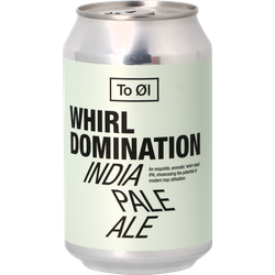 Bottled beer - To Øl Whirl Domination