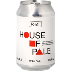 Bottled beer - To Øl House of Pale
