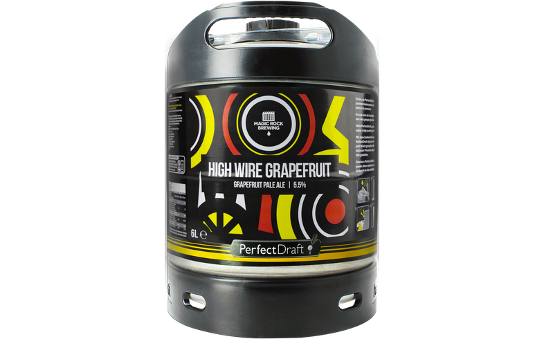 Fässer - Magic Rock High wire Grapefruit PerfectDraft Fass 6 liter - Mehrweg