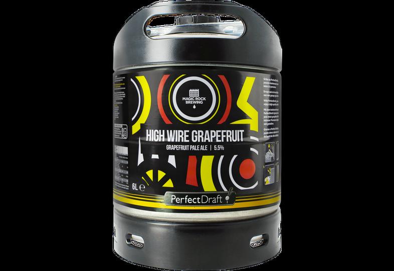 Tapvaten - PerfectDraft Magic Rock High Wire Grapefruit Vat 6L - 5 EUR Cashback