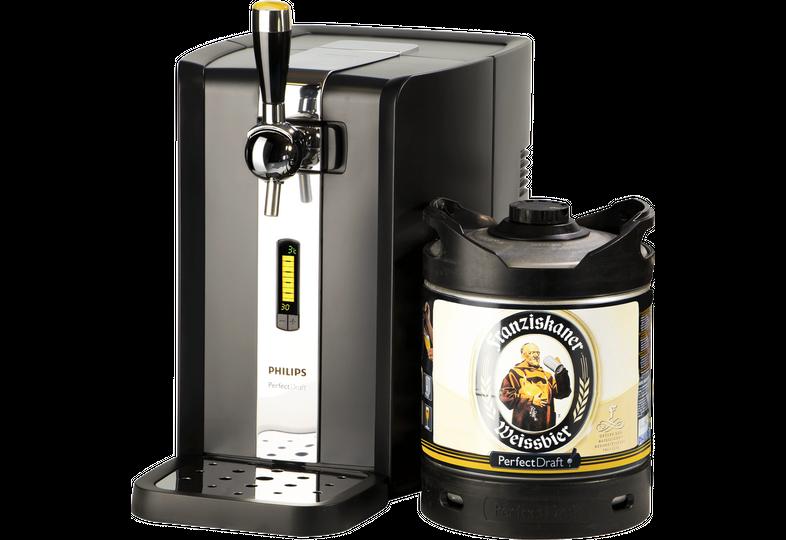 Fässer - Zapfanlage PerfectDraft + Franziskaner Weissbier Fass 6 liter