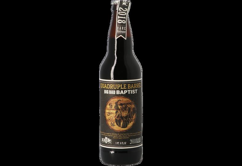 Bouteilles - Epic Big Bad Baptist Quadruple Barrel Rum And Whisky BA