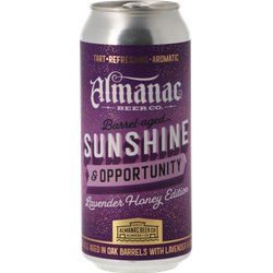 Bottled beer - Almanac Sunshine And Opportunity Lavender Honey Oak BA