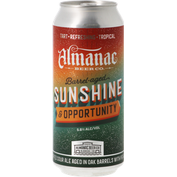 Bottled beer - Almanac Sunshine And Opportunity Oak BA