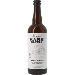 Bottled beer - The Rare Barrel Map of the Sun Oak BA 2019