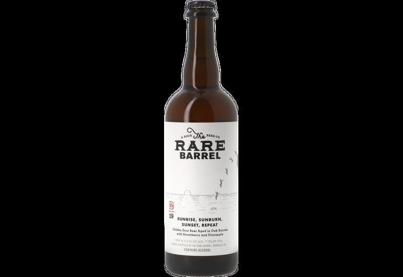 Bottled beer - The Rare Barrel Sunrise Sunburn Sunset Repeat Oak BA 2019