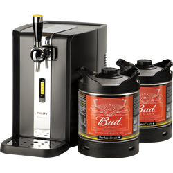 Fûts de bière - Pack Tireuse Perfectdraft 2 fûts Bud