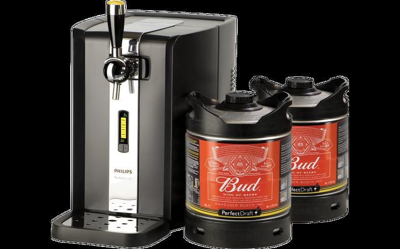 Tireuse à bière - Pack Tireuse Perfectdraft 2 fûts Bud