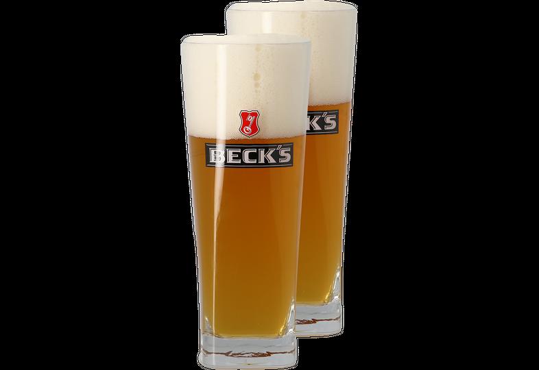 Ölglas - Pack 2 verres Beck's - 50 cl