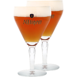 Verres à bière - Pack 2 verres Affligem - 33 cl