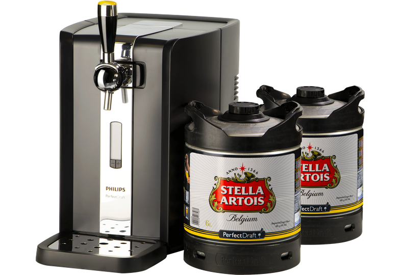 Fûts de bière - Pack Tireuse Perfectdraft 2 fûts Stella Artois