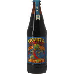 Flessen - Gigantic Most Most Premium Russian Imperial Stout Rye Barrel Aged 2020