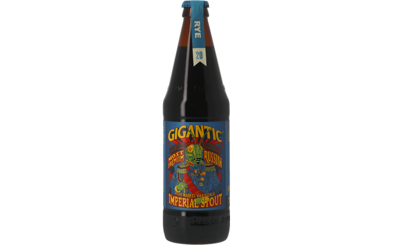 Bouteilles - Gigantic Most Most Premium Russian Imperial Stout Rye Barrel Aged 2020