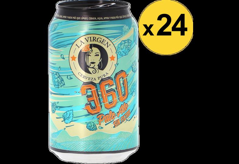 Pack de bières - Big Pack La Virgen 360 - 24 canettes