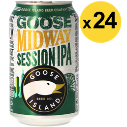 Big packs - Big Pack Goose Island Midway Session IPA - 24 canettes