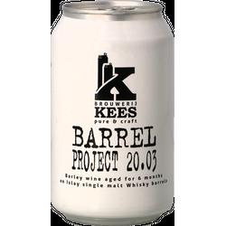 Flaskor - Kees Barrel Project 20.03 Islay Whisky Barrel Aged