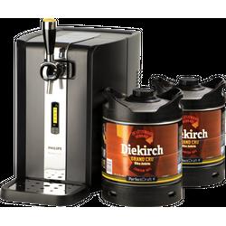 Beer dispensers - Pack Tireuse Perfectdraft 2 fûts Diekirch Grand Cru