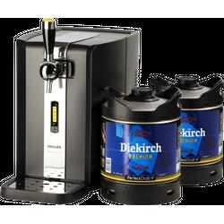 Beer dispensers - Pack Tireuse Perfectdraft 2 fûts Diekirch Premium