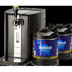 Tireuse à bière - Pack Tireuse Perfectdraft 2 fûts Diekirch Premium