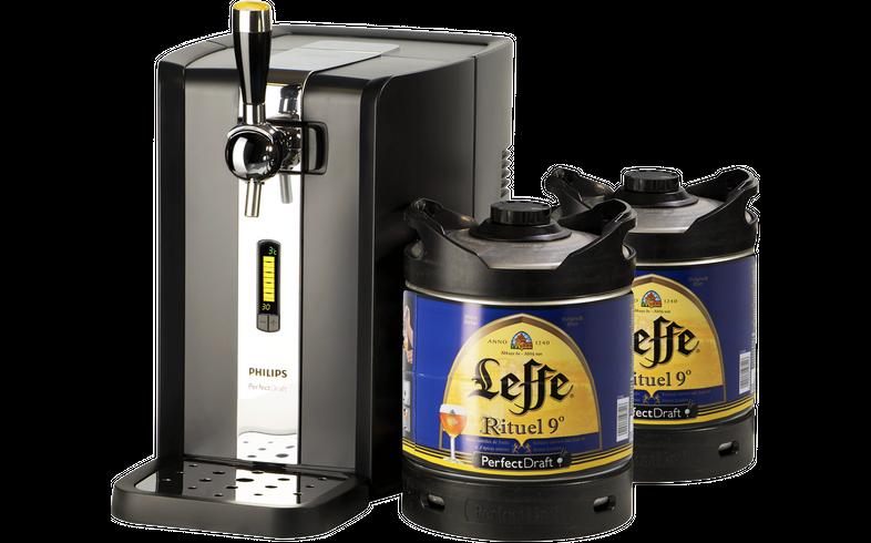 Beer dispensers - Pack Tireuse Perfectdraft 2 fûts Leffe Rituel