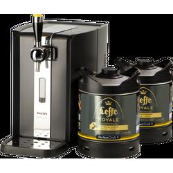 Beer dispensers - Pack Tireuse Perfectdraft 2 fûts Leffe Royale