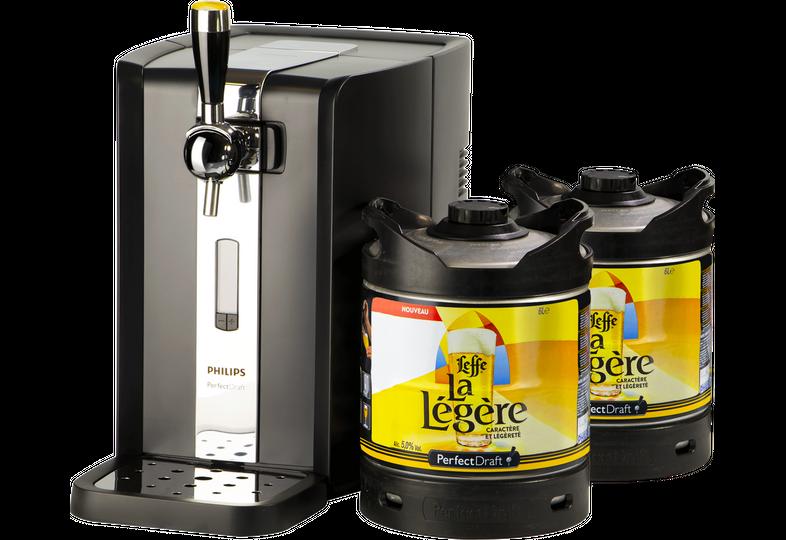 Fûts de bière - Pack Tireuse Perfectdraft 2 fûts Leffe La Légère