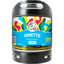 Barriles - Barril Ginette Natural White Bio PerfectDraft 6 L