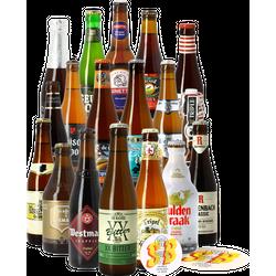 HOPT biergeschenken - Beste Belgische Bieren bierpakket -18x33cl