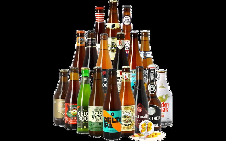 HOPT biergeschenken - Beste Belgische Bieren Pakket (18 stuks)