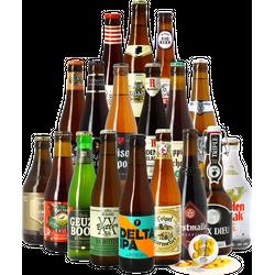 HOPT biergeschenken - Vive La Belgique Bierenpakket (18 stuks)