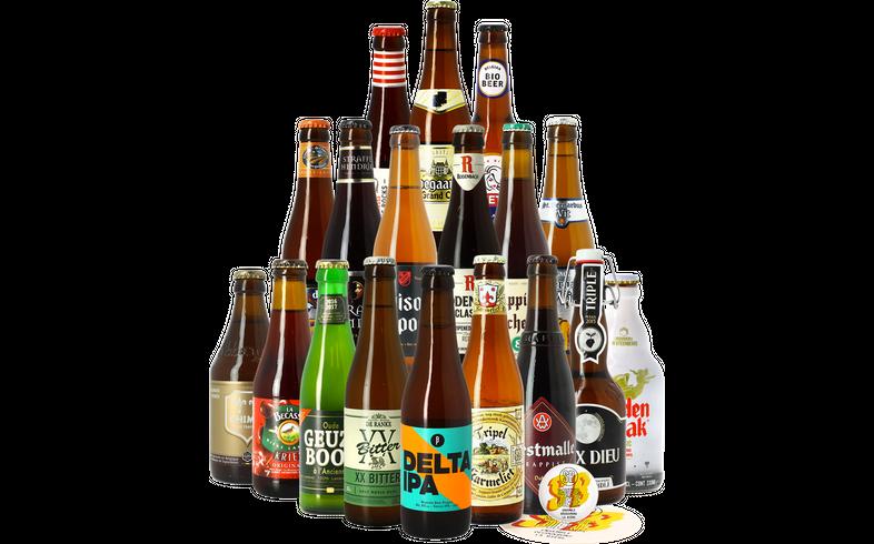 Coffrets Saveur Bière - Assortiment Vive la Belgique