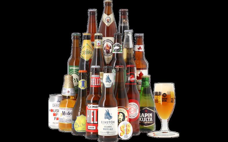 HOPT biergeschenken - Globetrotter Cadeau Pakket (17 bieren)