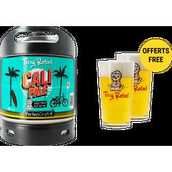 Fusti - Pack 1 fût 6L Tiny Rebel Cali Pale + 2 verres Tiny Rebel offerts