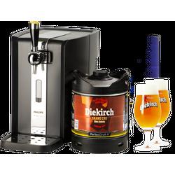 Fûts de bière - Pack Tireuse Diekirch Grand Cru + 2 verres Diekirch - 25 cl