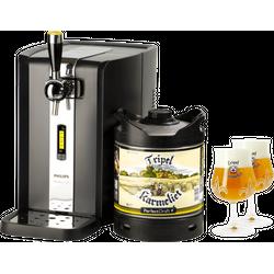 Fûts de bière - Pack Tireuse Tripel Karmeliet + 2 verres Tripel Karmeliet - 20 cl