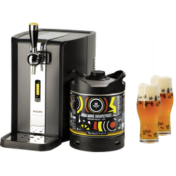 Tireuse à bière - Pack Tireuse Magic Rock High Wire Grapefruit + 2 verres Magic Rock Craft Master - 33 cl