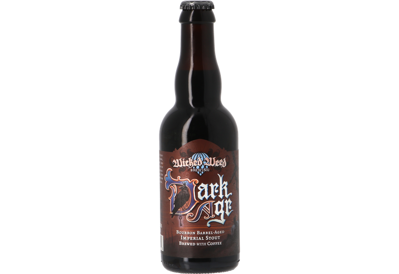 Bouteilles - Wicked Weed Coffee Dark Age - Bourbon BA