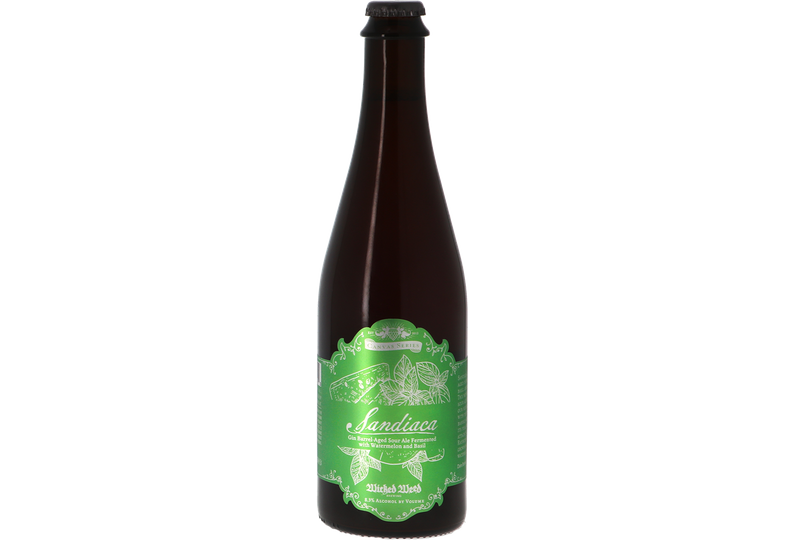 Bottled beer - Wicked Weed Sandiaca - Gin BA