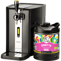 Tireuse à bière - Pack Tireuse Perfectdraft Ginette Natural Fruit Bio