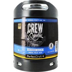 Fässer - Crew Republic Drunken Sailor PerfectDraft Fass 6 liter - Mehrweg