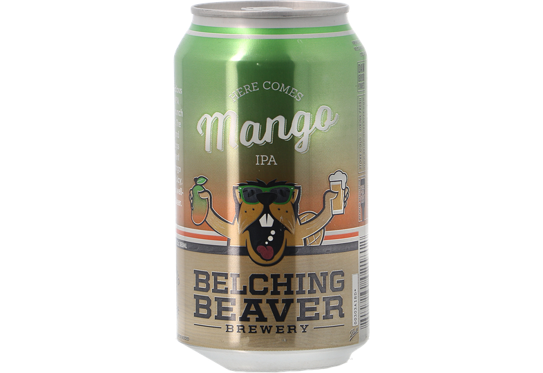 Bouteilles - Belching Beaver - Here Comes Mango! IPA