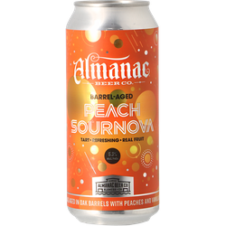 Bottled beer - Almanac - Peach Sournova - Oak BA
