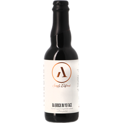 Bottled beer - Abnormal / Resident - Brick In Yo Face 2019 - Rye & Bourbon BA