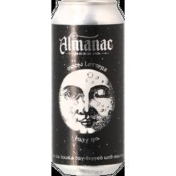 Bottled beer - Almanac - Moon Letters Hazy IPA