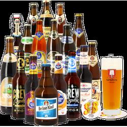 Bierpakketten - Duitsland Duits Bierpakket (17 stuks + 1 glas)